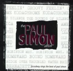 The Paul Simon Album: Broadway Sings the Best of Paul Simon cover